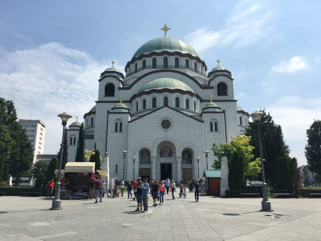 Kerk in Belgrado