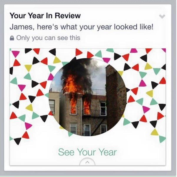 Facebook's Year in Review