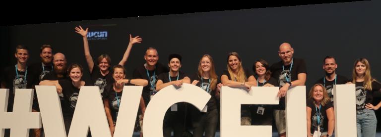Groepsfoto medewerkers Level Level Wordcamp Europe
