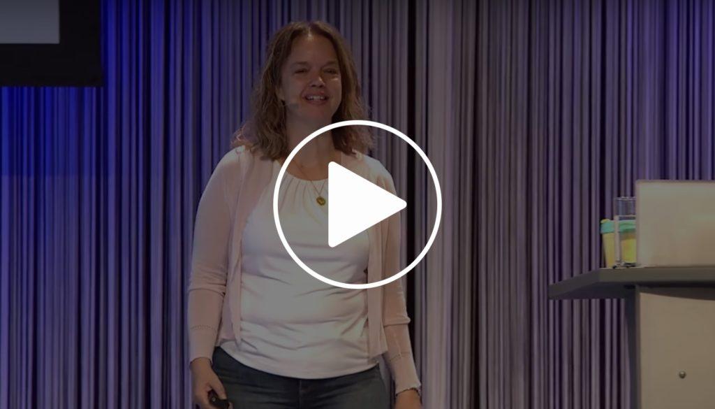 Thumbnail van de talk welke Yvette gaf op WordCamp Europe 2019