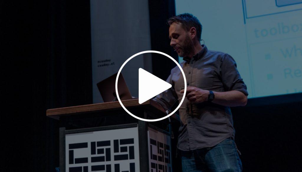Thumbnail van de talk van Joe Leech