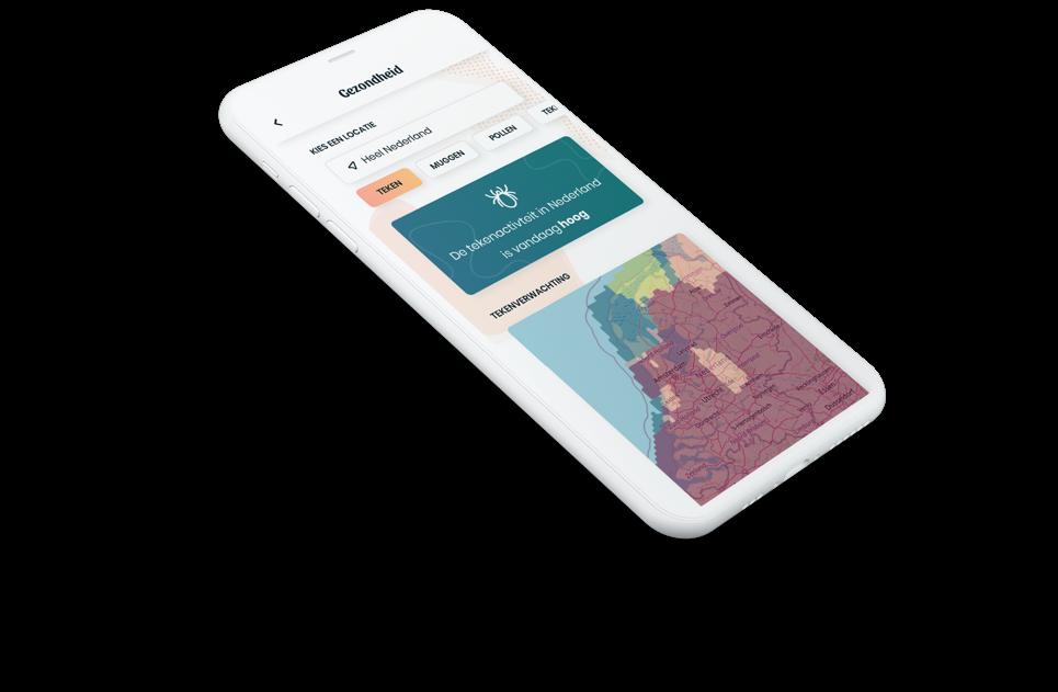 Een weergave van de nieuwe tekencheck functionaliteit op mobiele telefoon