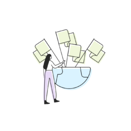 Ilustration multilingual websites