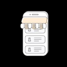 Ilustration webshop