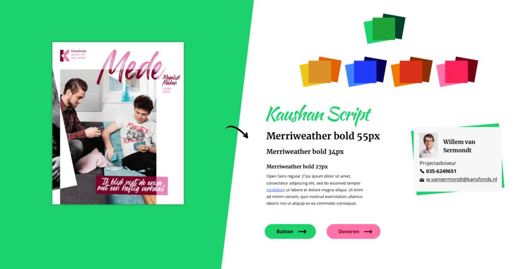 Kansfonds offline to online style